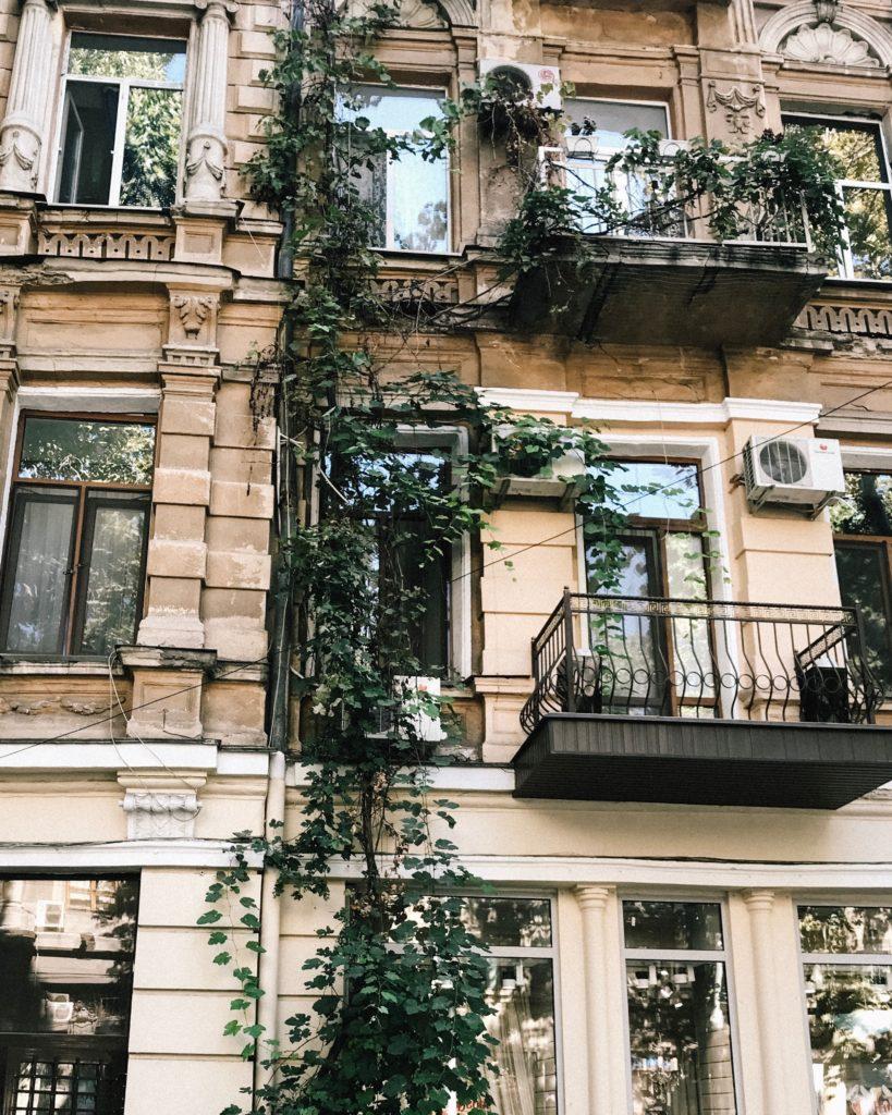 appartement balcon façade
